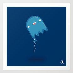 Boo-lloon Art Print