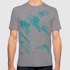 Colder Mens Fitted Tee Athletic Grey SMALL
