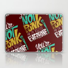 Not Punk Laptop & iPad Skin