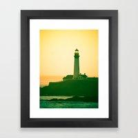 Lighthouse (2) Framed Art Print