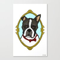 Mr B Canvas Print