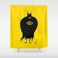 The Bat Creep Shower Curtain