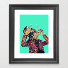 Enemy Framed Art Print