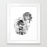 Hasn't being right just let you down? Framed Art Print