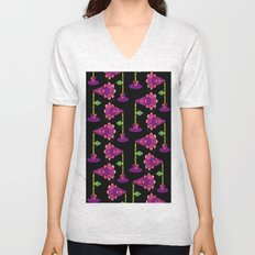 Mega Floral Unisex V-Neck