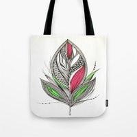 Harvest Feather Tote Bag