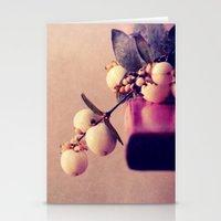white balls Stationery Cards