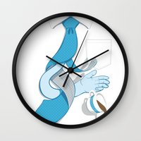 Decaf Disaster Wall Clock