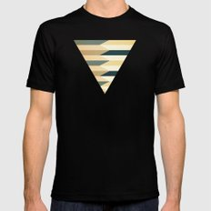 Pencil Clash I Mens Fitted Tee Black SMALL