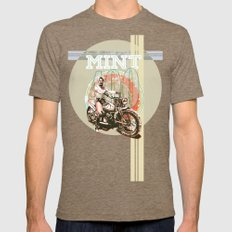 MINT 400 Mens Fitted Tee Tri-Coffee SMALL