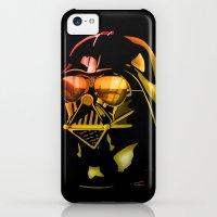 iPhone 5c Cases featuring STAR WARS Darth Vader by Tom Brodie-Browne