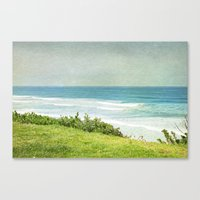 To the West Canvas Print