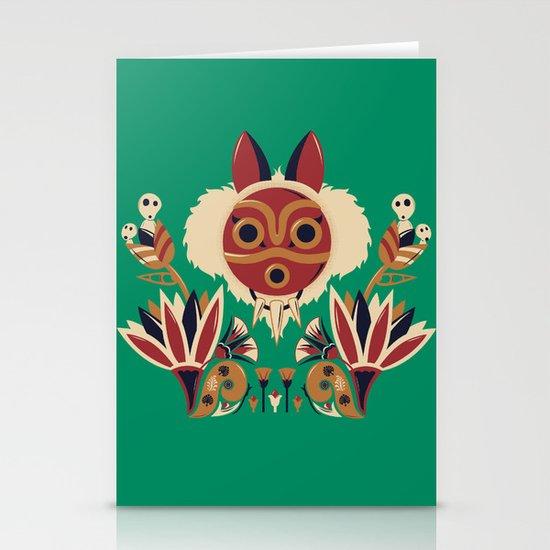 Mono Deco Stationery Card