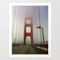 San Francisco: Golden Ga… Art Print