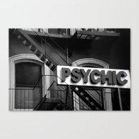 Psychic Canvas Print