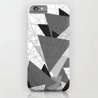 Triangle Grey iPhone 6 Slim Case