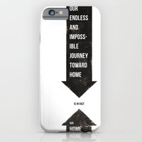iPhone & iPod Case featuring Endless Journey Home by The Made Shop