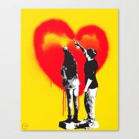 TRUE LOVE Canvas Print