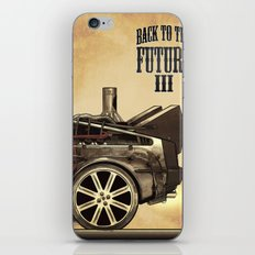 Back to the future III iPhone & iPod Skin