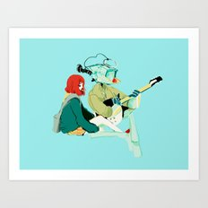 flcl Art Print