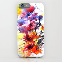 iPhone & iPod Case featuring face2 by Kate Kang