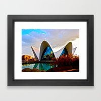 Aquarium: Valencia, Spain Framed Art Print