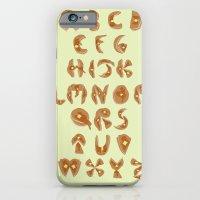 Pancake Alphabet iPhone 6 Slim Case