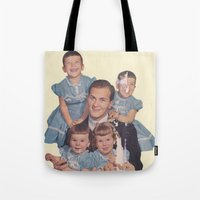 He's A Family Man Tote Bag