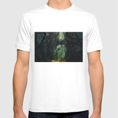 Dark Forest (VACANCY zine) Mens Fitted Tee White SMALL