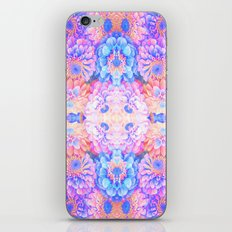 Pyschedelic floral iPhone & iPod Skin