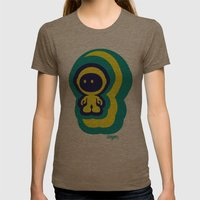 Spaceman 04 Womens Fitted Tee Tri-Coffee SMALL
