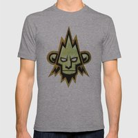 dnb flyer Mens Fitted Tee Athletic Grey SMALL