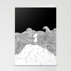 I wonder what is on the other side. Stationery Cards