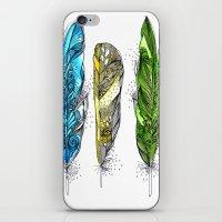 Dream Feathers iPhone & iPod Skin