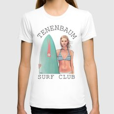 Margot Surfs Womens Fitted Tee White SMALL