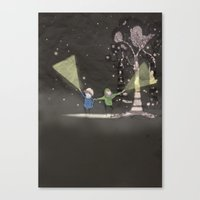Night Time Canvas Print