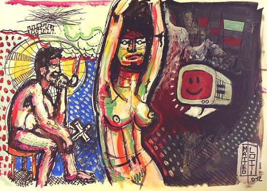 Castità Art Print