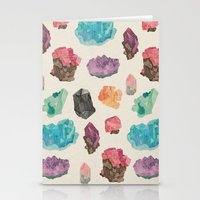 Raw Gems Stationery Cards