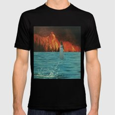untitled Mens Fitted Tee Black SMALL