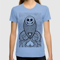 Coroner's Joke No.3 Womens Fitted Tee Athletic Blue SMALL