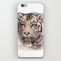 White Tiger 909 iPhone & iPod Skin