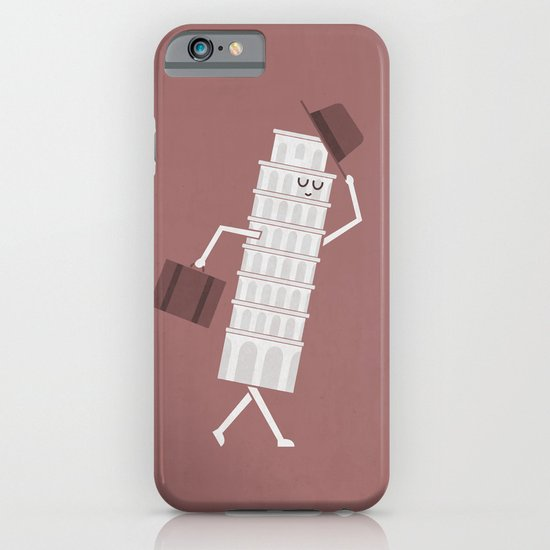 The Leaving Tower Of Pisa iPhone & iPod Case