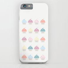 Cupcakes pattern Slim Case iPhone 6s