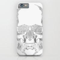 Skull BW iPhone 6 Slim Case
