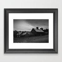 Eerie Silence Framed Art Print