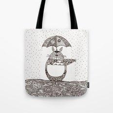 Happy Totoro Tote Bag