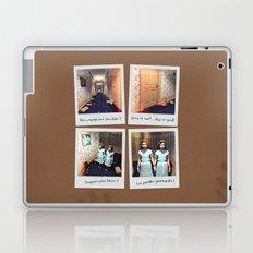 Jumelles et Chocolat Laptop & iPad Skin