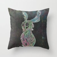 Spacebun Throw Pillow