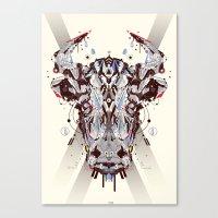 bulls Canvas Print