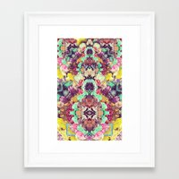 Opal with phantoms  Framed Art Print